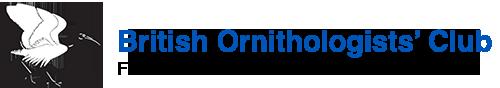 British Ornithologists' Club Logo